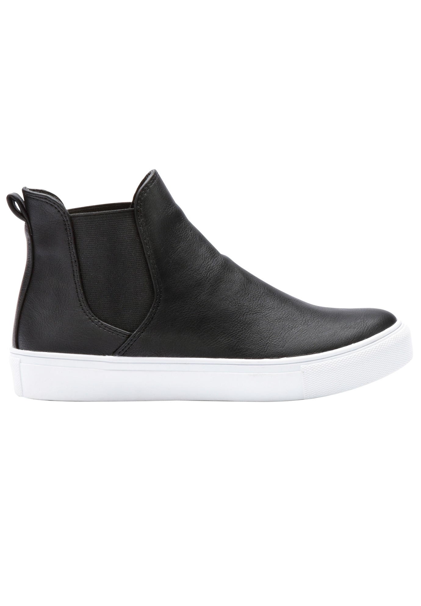 Faux Leather High-top Sneakers by ellos®,