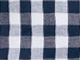 Gingham Peasant Tunic by ellos®, NAVY/WHITE, swatch