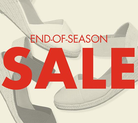 End-of-Season Sale