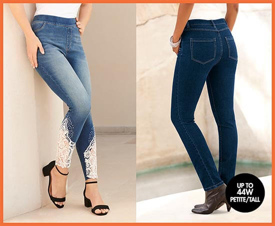Up to 44W   Petite and Tall