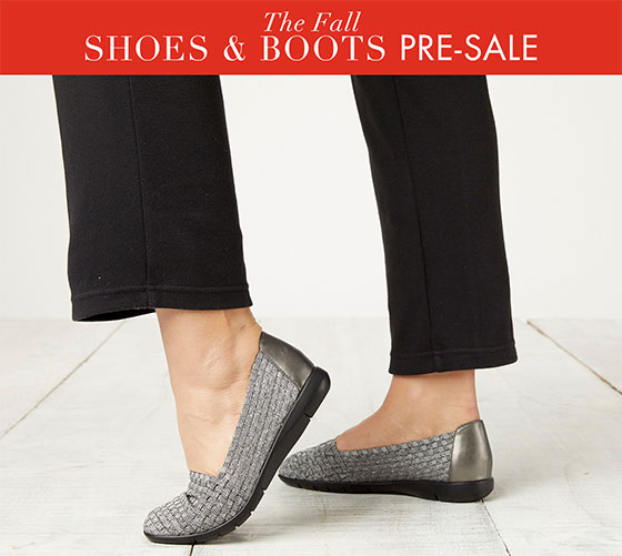 The Fall Shoes & Boots Pre-Sale