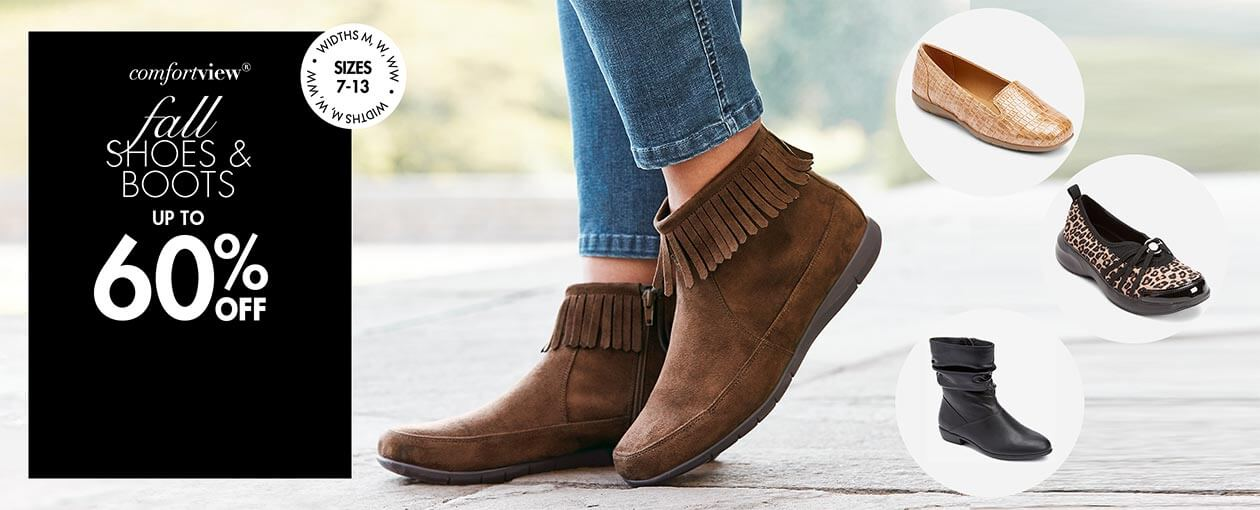 fall Shoes & Boots up to 60% off