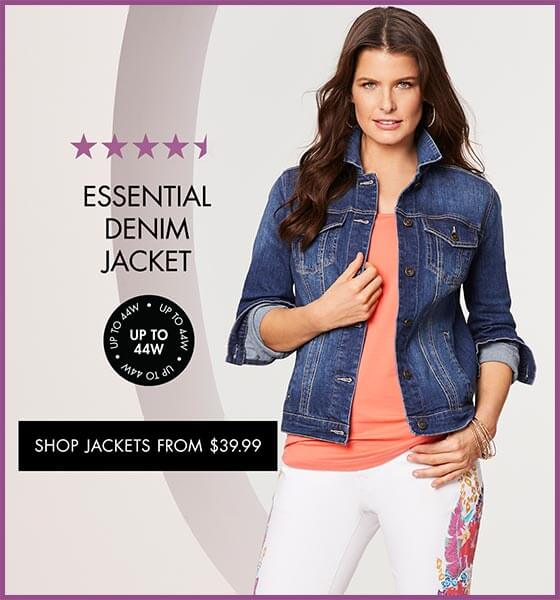 Shop Jackets from $39.99