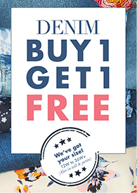 Denim Buy One, Get One Free