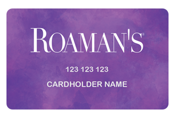 Roaman's Credit Card