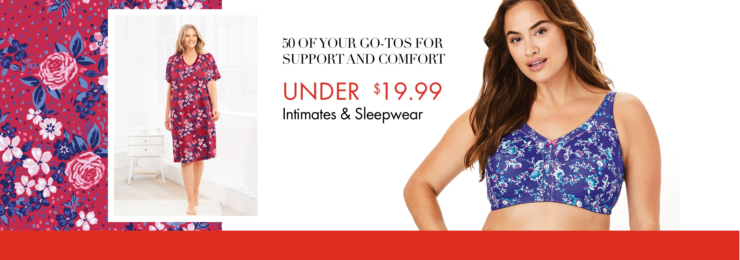 50 of your go-tos for support and comfort under $19.99 - Intimates & Sleepwear