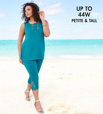 up to 44W | Petite and Tall