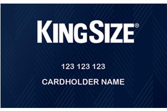 KingSize Credit Card